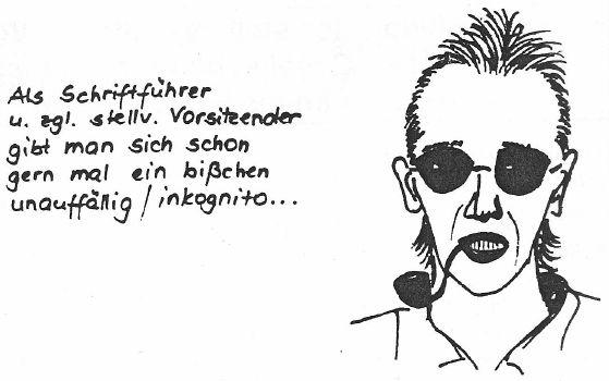 Karikatur Adelhoefer